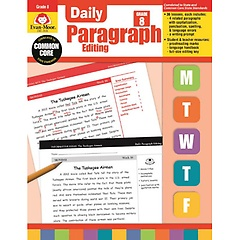 "<font title=""Daily Paragraph Editing, Grade 8 (Paperback/ Teacher"