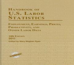"<font title=""Handbook of U.S. Labor Statistics 2011 (Hardcover / 14th Ed.)"">Handbook of U.S. Labor Statistics 2011 (...</font>"