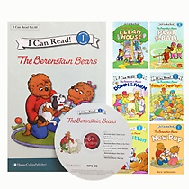 [I Can Read Book] Level 1. The Berenstain Bears �ø��� 6�� ��Ʈ (å6��+CD1��)