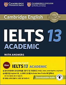Cambridge IELTS 13 Academic with Answers with Audiobook (Package)