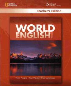 "<font title=""World English Level 1 : Teacher"
