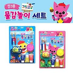핑크퐁 그림교실 물감놀이 (색상랜덤)