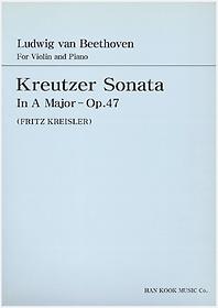 "<font title=""베토벤 바이올린 크로이쳐 소나타 가장조 - Op. 47"">베토벤 바이올린 크로이쳐 소나타 가장조 -...</font>"