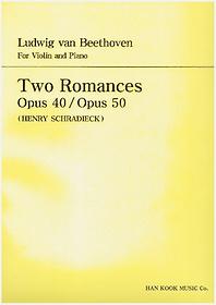 "<font title=""베토벤 바이올린 2개의 로망스 - Op.40, Op.50"">베토벤 바이올린 2개의 로망스 - Op.40, Op...</font>"