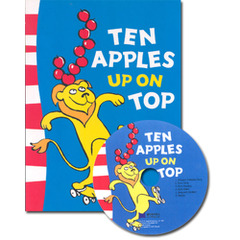 [��ο�]Ten Apples Up on Top! (Paperback+ CD)