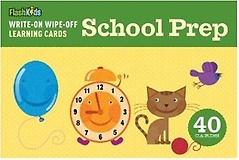 """<font title=""""Write-On Wipe-Off Learning Cards: School Prep (카드 40장)"""">Write-On Wipe-Off Learning Cards: School...</font>"""