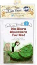No More Monsters for Me! Book and CD (I Can Read Book 1) [ABRIDGED] [AUDIOBOOK] (Audio Cassette/미국판)
