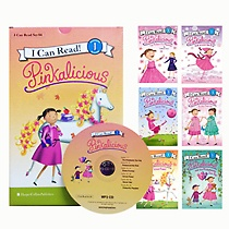 [I Can Read Book] Level 1. Pinkalicious �ø��� 6�� ��Ʈ (å6��+CD1��)