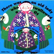"""<font title=""""[노부영]There was an Old Lady Who Swallowed a Fly (Paperback+ CD)"""">[노부영]There was an Old Lady Who Swallo...</font>"""