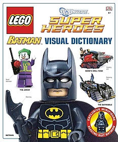 """<font title=""""LEGO Batman: Visual Dictionary (Hardcover+Minifigure)"""">LEGO Batman: Visual Dictionary (Hardcove...</font>"""
