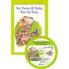 "<font title=""Mr. Putter & Tabby : Stir The Soup (Paperback+ CD)"">Mr. Putter & Tabby : Stir The Soup (Pape...</font>"