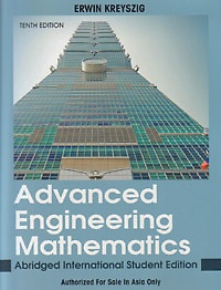e kreyszig advanced engineering mathematics 8th edition pdf