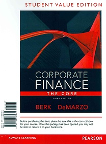 Corporate Finance (Hardcover / 3rd Ed.)