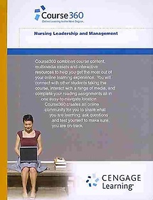 """<font title=""""Cengage-hosted Course360 Nursing Leadership & Management Printed Access Card (Hardcover)"""">Cengage-hosted Course360 Nursing Leaders...</font>"""