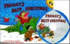 Froggy's Best Christmas (Paperback + CD)