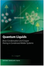Quantum Liquids: Bose Condensation and Cooper Pairing in Condensed-Matter Systems (Hardcover)