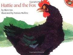 """<font title=""""[한정판매] Hattie and the Fox (Paperback) """">[한정판매] Hattie and the Fox (Paperback...</font>"""