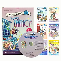 [I Can Read Book] Level 1. Fancy Nancy �ø��� 6�� ��Ʈ (å6��+CD1��)