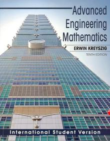 Advanced Engineering Mathematics (Paperback / 10th Ed.) 책표지