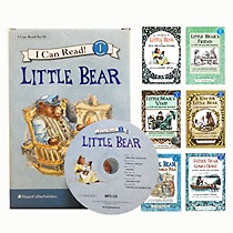 [I Can Read Book] Level 1. Little Bear �ø��� 6�� ��Ʈ (å6��+CD1��)