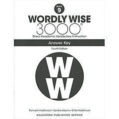 """<font title=""""Wordly Wise 3000 :  Book 9 Answer Key  (Paperback/4th Ed.)"""">Wordly Wise 3000 :  Book 9 Answer Key  (...</font>"""