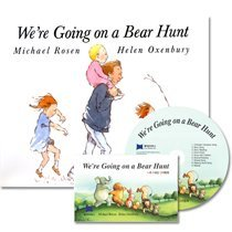 [��ο�]We're Going on a Bear Hunt (Boardbook+ CD)