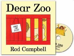 Dear Zoo (Hardcover+CD)