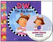 D. W. The Big Boss (Book+ Audio CD)