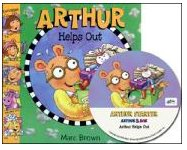 Arthur Helps Out (Book+ Audio CD)