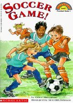 Soccer Game! - Scholastic Hello Reader CD Set 1-12 (Paperback+Audio CD)