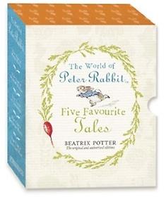 "<font title=""World of Peter Rabbit Five Favourite (Hardcover)"">World of Peter Rabbit Five Favourite (Ha...</font>"