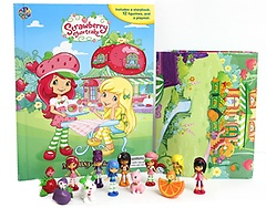 """<font title=""""Strawberry Shortcake My Busy Book (Board Book+피규어 포함)"""">Strawberry Shortcake My Busy Book (Board...</font>"""