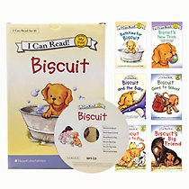 [I Can Read Book] My First : Biscuit �ø��� 6�� ��Ʈ (å6��+CD1��)