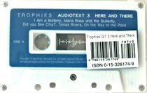 Harcourt Trophies Grade1-3 Here and There - Audiotext (Tape/ 교재별매)