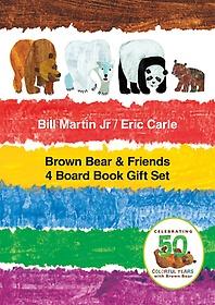 "<font title=""Brown bear & friends 4 board book gift set : 브라운베어 보드북 4종세트"">Brown bear & friends 4 board book gift s...</font>"