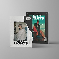 백현(BAEK HYUN) - City Lights [1st Mini Album][Day Ver, Night Ver 중 1종 랜덤]