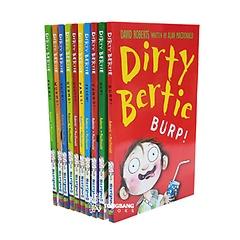 Dirty Bertie 시리즈 1 챕터북 10종 세트 (Paperback, 영국판)