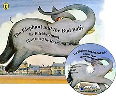 """<font title=""""[노부영]The Elephant and the Bad Baby (Paperback+ CD)"""">[노부영]The Elephant and the Bad Baby (P...</font>"""