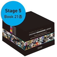 """<font title=""""Oxford Bookworms Library 5 Pack 21종 (Paperback)"""">Oxford Bookworms Library 5 Pack 21종 (Pa...</font>"""