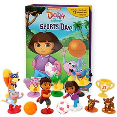 """<font title=""""Dora the Explorer Sports Day! My Busy Book (Board Book+피규어 포함)"""">Dora the Explorer Sports Day! My Busy Bo...</font>"""