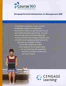 """<font title=""""Course360 Introduction to Management on Clms Printed Access Card (Hardcover)"""">Course360 Introduction to Management on ...</font>"""
