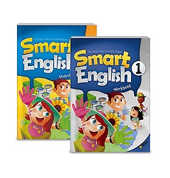 Smart English 1: Student Book+Workbook (Paperback:2+CD:1)