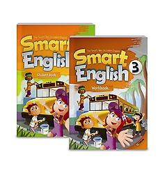 Smart English 3: Student Book+Workbook (Paperback:2+CD:1)