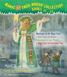 "<font title=""Magic Tree House CD Collection #41-44 (Audio CD/ Unabridged Ed./ 도서별매)"">Magic Tree House CD Collection #41-44 (A...</font>"