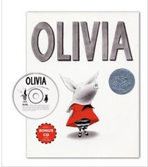 Olivia (Hardcover+Audio CD)