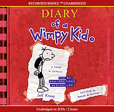 Diary of a Wimpy Kid #1 : A Nobel in Cartoons (Audio CD:2/ Unabridged Ed./ ��������)