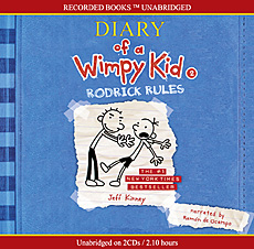 Diary of a Wimpy Kid #2 : Rodrick Rules (Audio CD:2/ Unabridged Ed./ ��������)