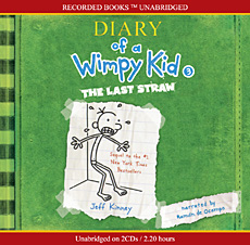 Diary of a Wimpy Kid #3 : The Last Straw (Audio CD:2/ Unabridged Ed./ ��������)