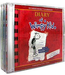 Diary of a Wimpy Kid #1-3 (Audio CD:6/ Unabridged Ed./ ��������)