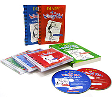 Diary of a Wimpy Kid 3�� ��Ʈ (Paperback:3 +Audio CD:6)
